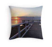Shoalhaven Sunrise Throw Pillow