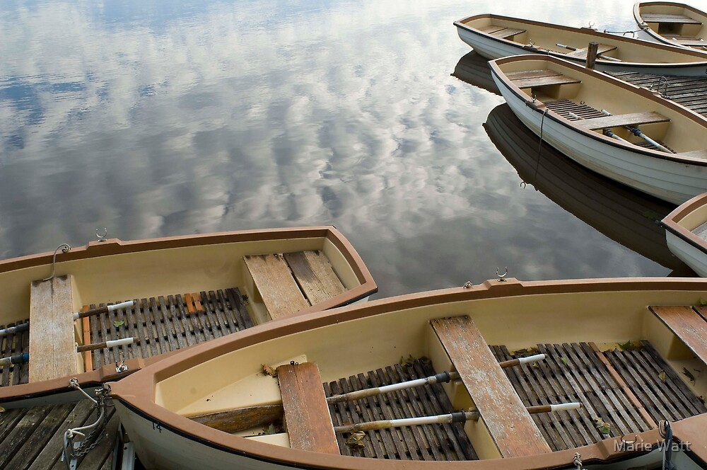 Row Boats by Marie Watt