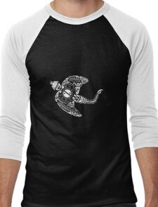 MAORI TATOO RELATIVE DRAGON Men's Baseball ¾ T-Shirt