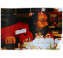 The Toy Maker In Graz Austria Poster