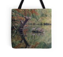 A Couple of Couples (Ducks at Witley)  Tote Bag