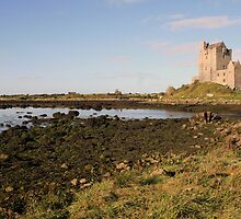 Dunguaire castle evening view by John Quinn