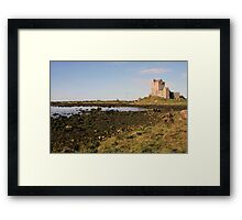 Dunguaire castle evening view Framed Print