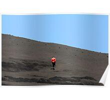 Volcano Man Poster