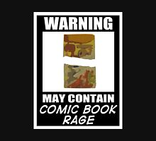 Warning May Contain Comic Book Rage (T-Shirt & Sticker )  T-Shirt