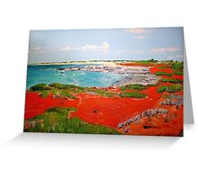 Broome View  Greeting Card