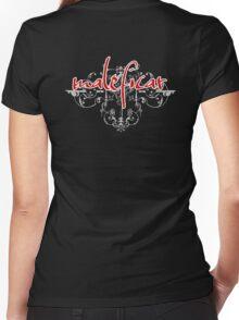Maleficar Women's Fitted V-Neck T-Shirt