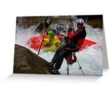 Adidas Sickline Kayak World Championship 2008 - Seitenlage Greeting Card