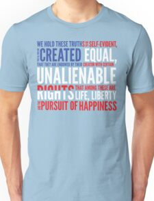 Declaration of Independence Unisex T-Shirt