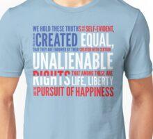 Declaration of Independence Unisex T-Shirt