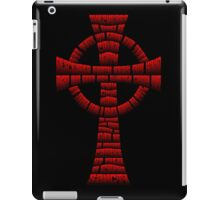 Boondock Saints Prayer Cross iPad Case/Skin