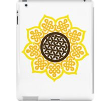 Celtic Sunflower iPad Case/Skin