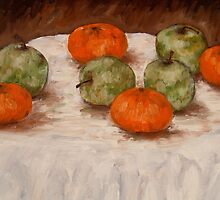 FRUIT ON A TABLE by pjmurphy