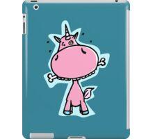 The Unicorn fetches the bone iPad Case/Skin