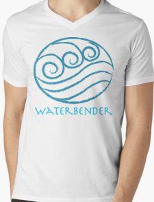 Waterbender Mens V-Neck T-Shirt