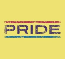Bisexual Pride Banner Kids Clothes