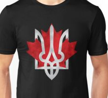 Canada and Ukraine Unisex T-Shirt