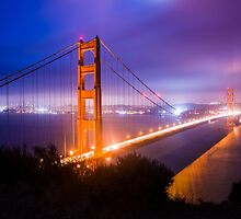 Golden Gate Bridge by Reese Ferrier