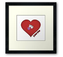 Valentine's Day Framed Print