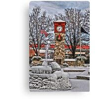 Ice Cold Holiday Canvas Print