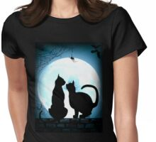 purrfect moments tee Womens Fitted T-Shirt
