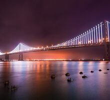 San Francisco – Oakland Bay Bridge by Reese Ferrier