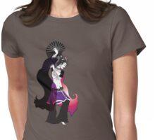 Tribal Fan Dancer Womens Fitted T-Shirt