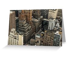 New York Tetris Greeting Card