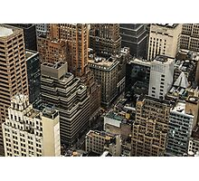 New York Tetris Photographic Print