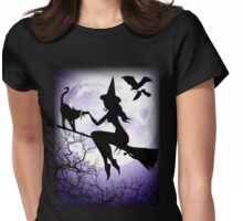 All Hallows Eve Tee Womens Fitted T-Shirt