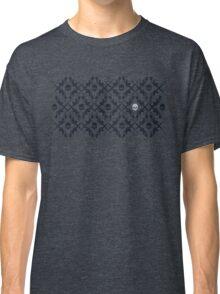 Barrett Rifle & Skull Tessellation (Larger Version) Classic T-Shirt