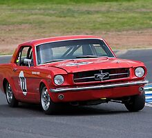 Red Mustang by John Buxton