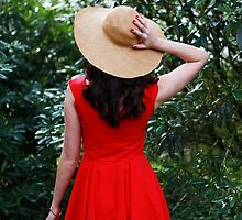 Red Dress I by Jacqueline Moore