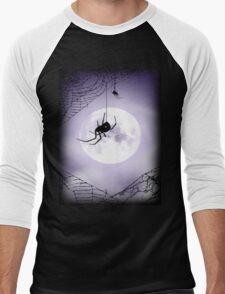 along came a spider tee Men's Baseball ¾ T-Shirt