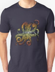 Brown Octopus T-Shirt