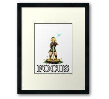 Zelda Focus Framed Print