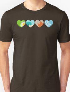 Four Seasons Hearts T-Shirt