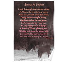 Blessings At Daybreak by Regina Wiencek Poster