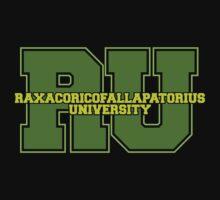 Raxacoricofallapatorius University One Piece - Short Sleeve