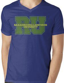 Raxacoricofallapatorius University Mens V-Neck T-Shirt