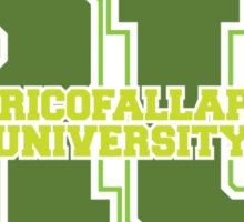 Raxacoricofallapatorius University Sticker