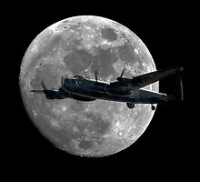 Bomber's Moon (Square version) by © Steve H Clark Photography