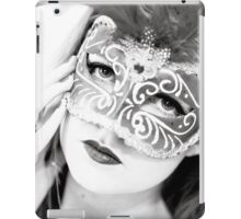 The girl in the mask PI iPad Case/Skin