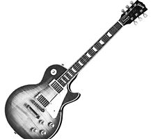 Les Paul electric guitar. by digitaleclectic