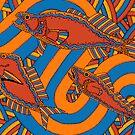 Aarli - (school of fish) lalin season (summer) by sekodesigns
