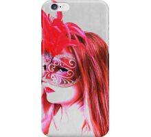 The girl in the mask PII iPhone Case/Skin