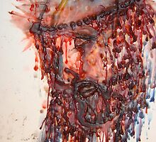 Jesus It Was Done for YOU! (hotwax artwork) (C)ArdithShold(C) by RealPainter