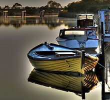 River  Reflections Marlo Vic. by helmutk