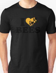 I love bees Unisex T-Shirt