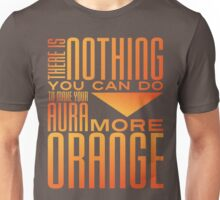Orange Aura Unisex T-Shirt